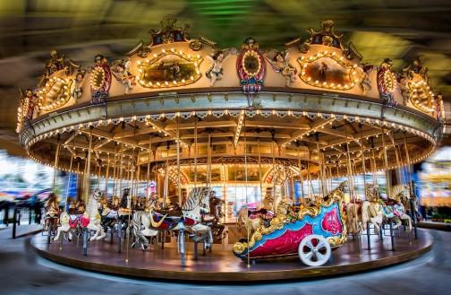 carousel-merrygoround-luna-park-fathers-day-melbou1
