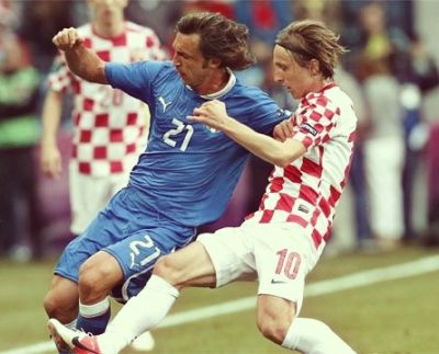 modric and pirlo